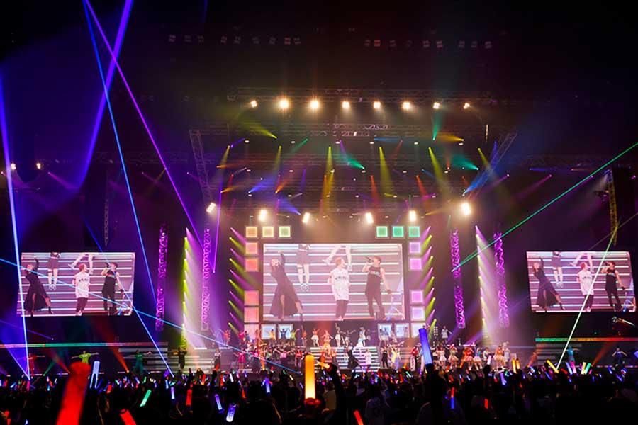 8月27日に開幕した「Animelo Summer Live 2021 -COLOR-」。DAY1では全43曲が披露された。【写真:(C)Animelo Summer Live 2021】