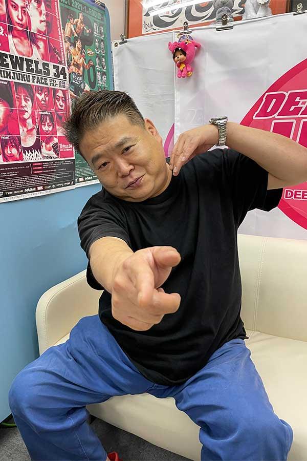 20年間、総合格闘技「DEEP」を運営してきた佐伯繁代表