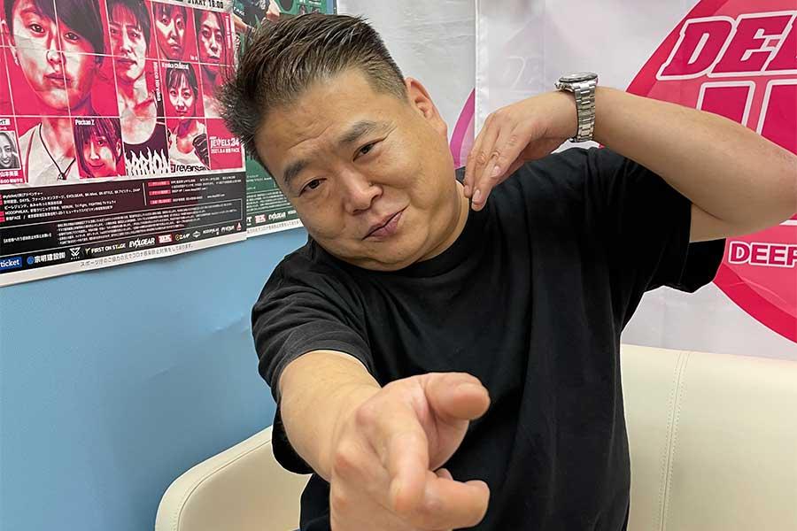 RIZINバンタム級GP大予想 格闘技界で20年間生き残ってきた「DEEP」佐伯代表を直撃