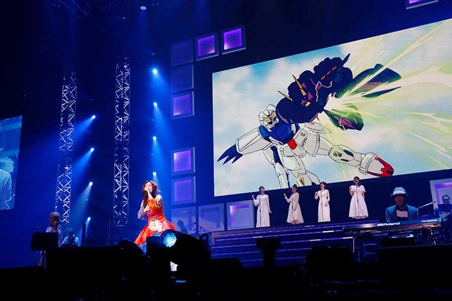 8月27日に開幕した「Animelo Summer Live 2021 -COLOR-」。29日の最終日では森口博子が9年ぶりに出演【写真:(C)Animelo Summer Live 2021】