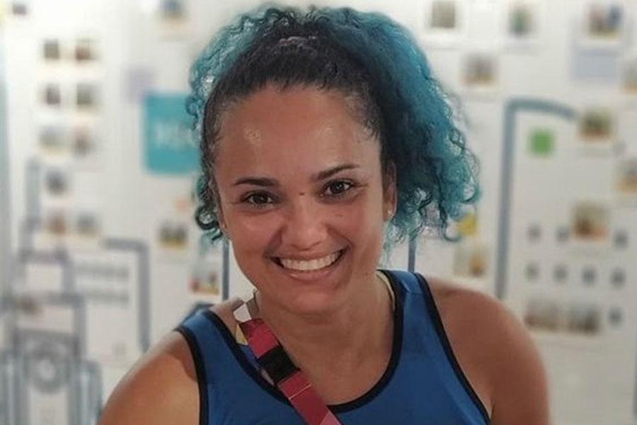 女子陸上のブラジル代表フェルナンダ・ヤラ・ダシウバ【写真:インスタグラム(@fernanda_atleta)より】