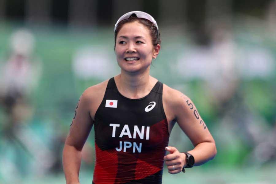 東京パラリンピックトライアスロン女子代表の谷真海【写真:Getty Images】