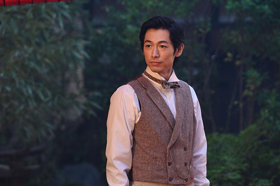 五代才助(友厚)を演じるディーン・フジオカ【写真:(C)NHK】