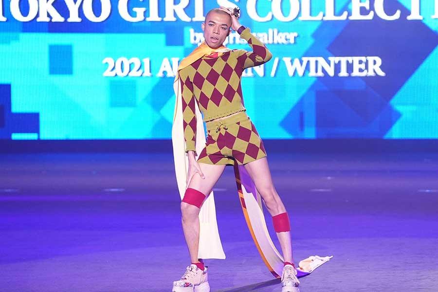 【TGC2021AW】ロイ、ジェンダーレスへ願い「男女のくくりをぶっ壊して、自分のファッションを」