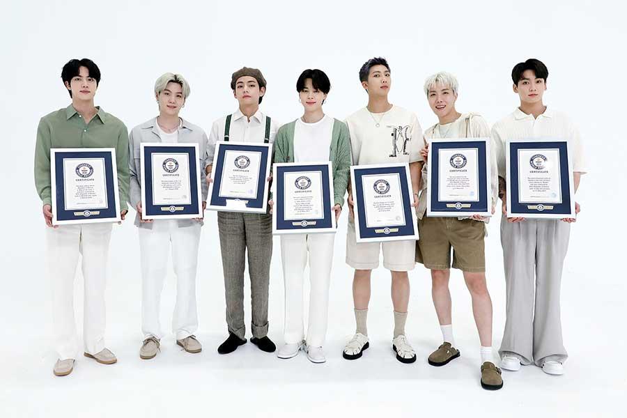 BTSがギネスワールドレコードの殿堂入りを果たした