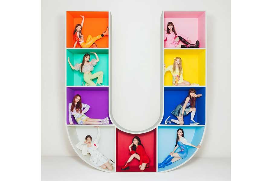 NiziUが初のフルアルバム「U」を発売
