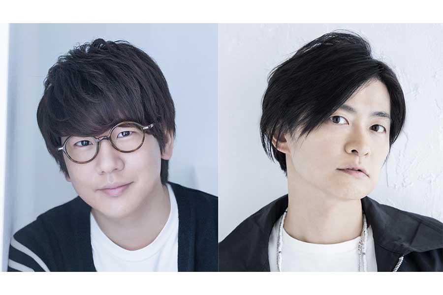 「鬼滅ラヂヲ」でパーソナリティーを務める花江夏樹(左)と下野紘