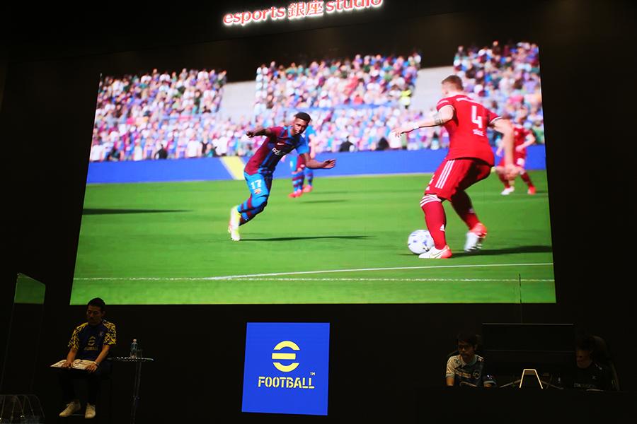 「eFootball」メディア向け試遊会が開催された【写真:ENCOUNT編集部】