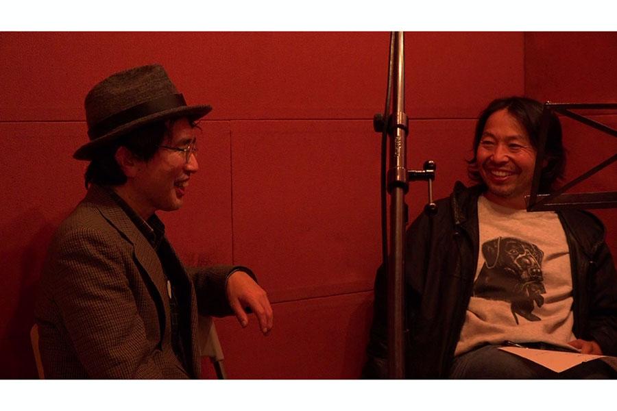 曽我部恵一(右)とのエピソードを語った大槻泰永【写真:(C)Yui Nagase】