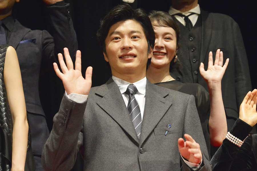 """田中圭、中谷美紀との夫婦役に「ハラハラしました」 中谷からは鋭い""""ツッコミ"""""""