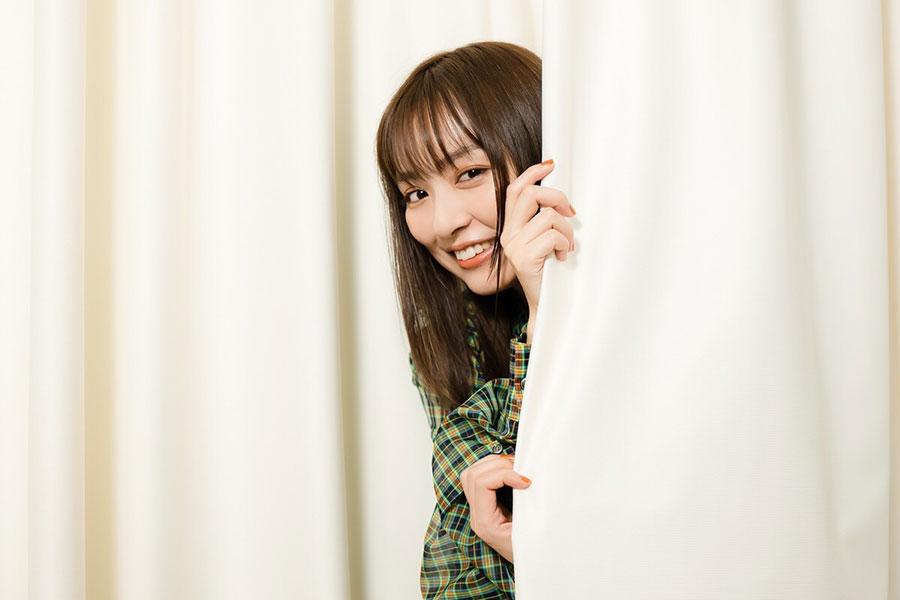内田理央はドラマで体を張った演技を見せている【写真:荒川祐史】