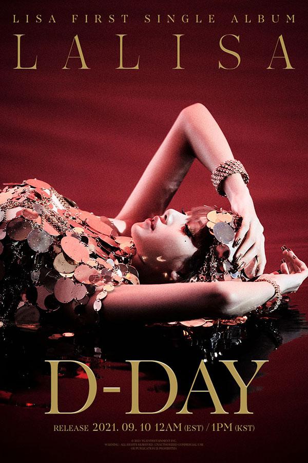 BLACKPINK・LISAの「LALISA」D-DAYポスター