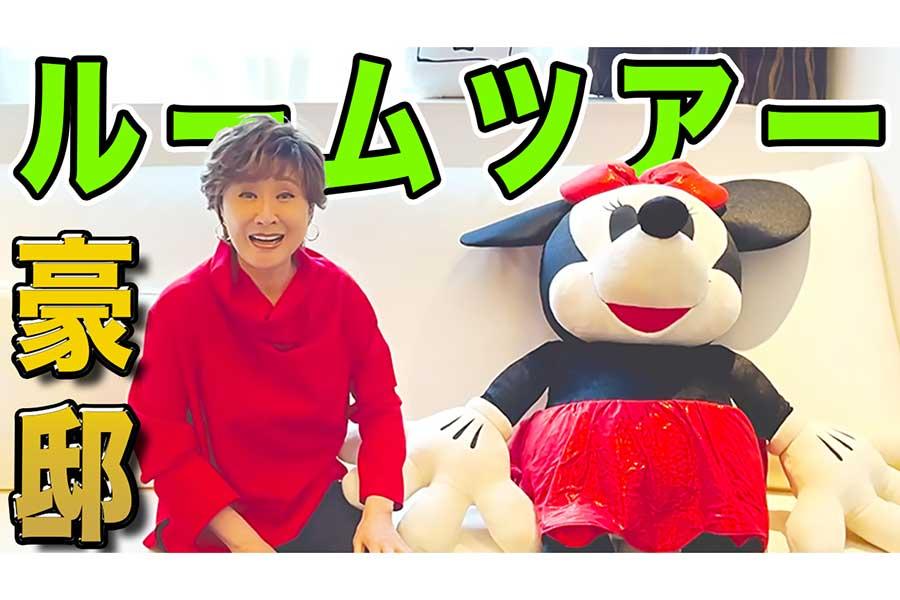 小林幸子が自身のYouTubeをリニューアル