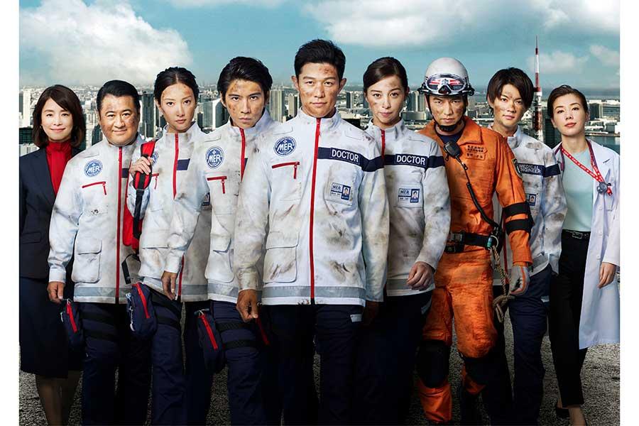 12日に最終話が放送された「TOKYO MER~走る緊急救命室~」【写真:(C)TBS】