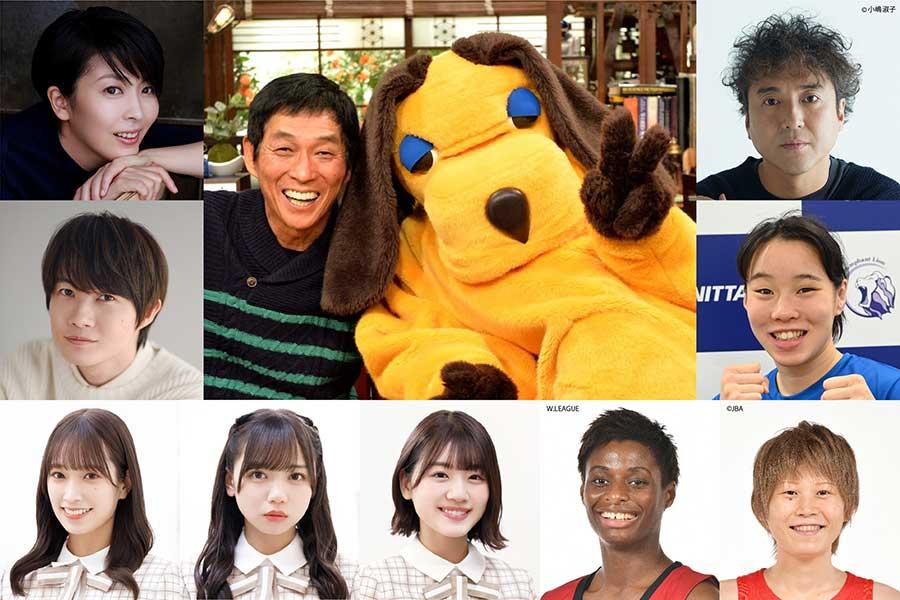 10月1日放送「さんまのまんま秋SP」の主な出演者【写真:(C)カンテレ】