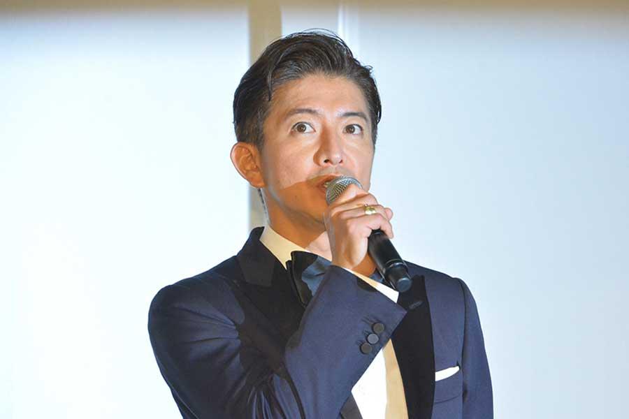 公開初日舞台あいさつに登壇した木村拓哉【写真:ENCOUNT編集部】