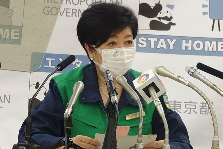小池都知事、ワクチン証明などの行動制限緩和に慎重姿勢 「東京は図体が大きいので」