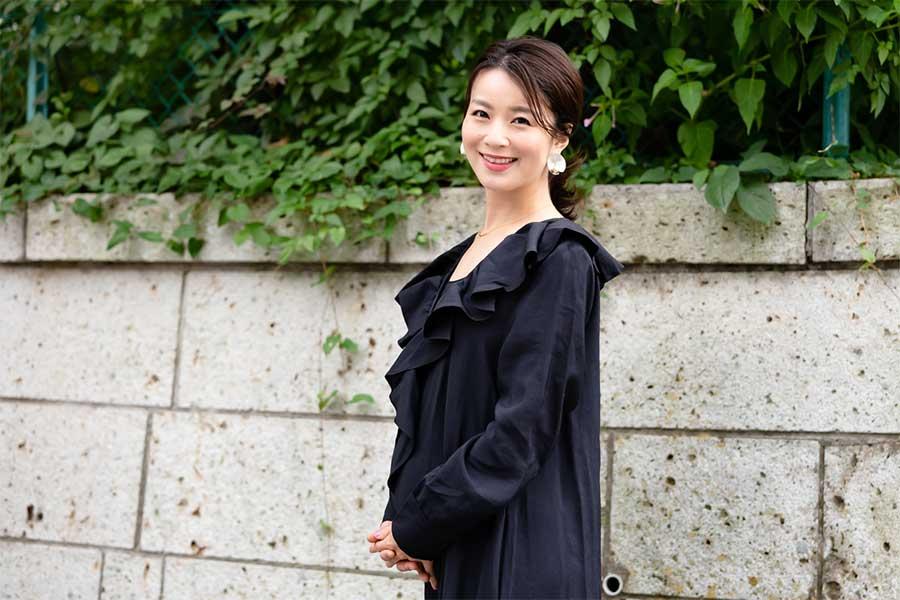元テレビ東京アナウンサーの秋元玲奈さん【写真:荒川祐史】