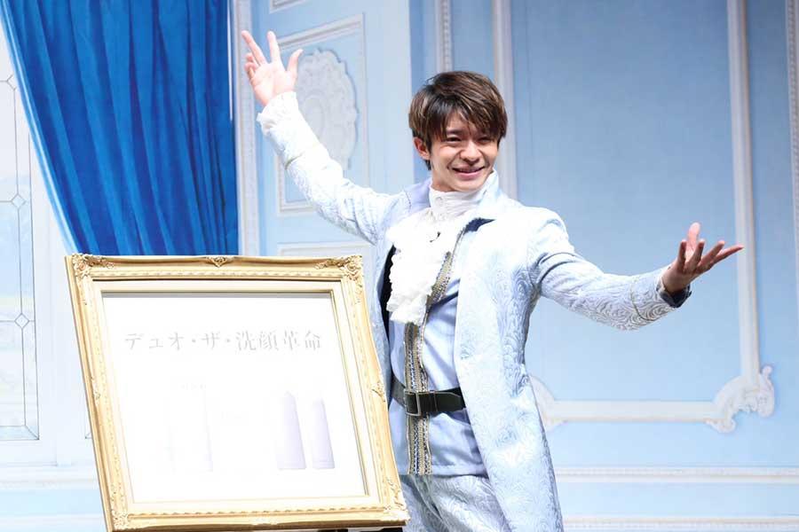 イベントに出席した「King & Prince」の岸優太【写真:ENCOUNT編集部】
