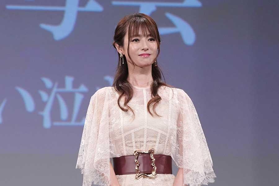 イベントに登場した深田恭子【写真:荒川祐史】