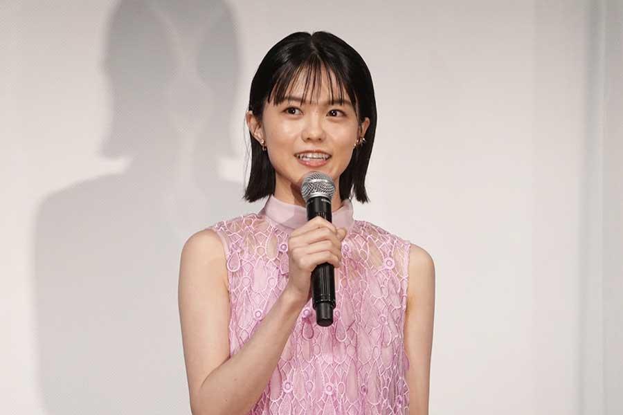 「今泉組で主演」のうれしさを語った志田彩良【写真:ENCOUNT編集部】