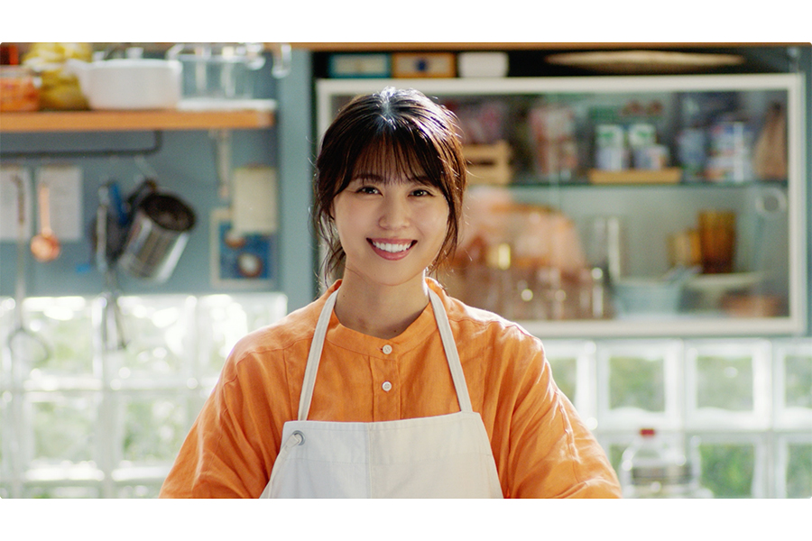 新CMで「シーチキン食堂」の女将を演じる有村架純