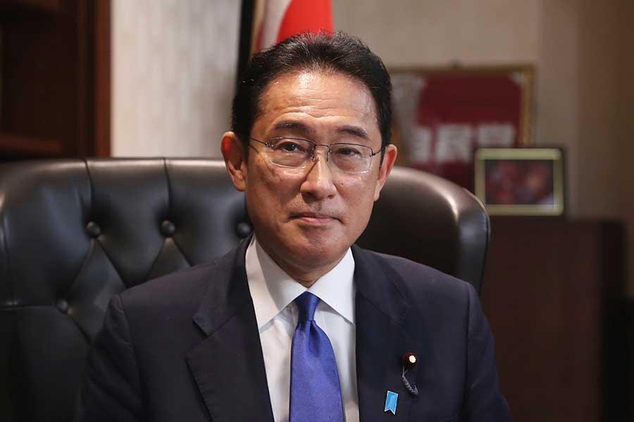 自民党の新総裁に就任した岸田文雄氏【写真:AP】
