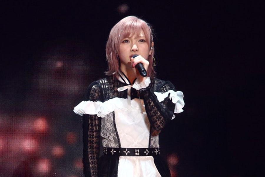 センターを務める「AKB48」岡田奈々【写真:ENCOUNT編集部】