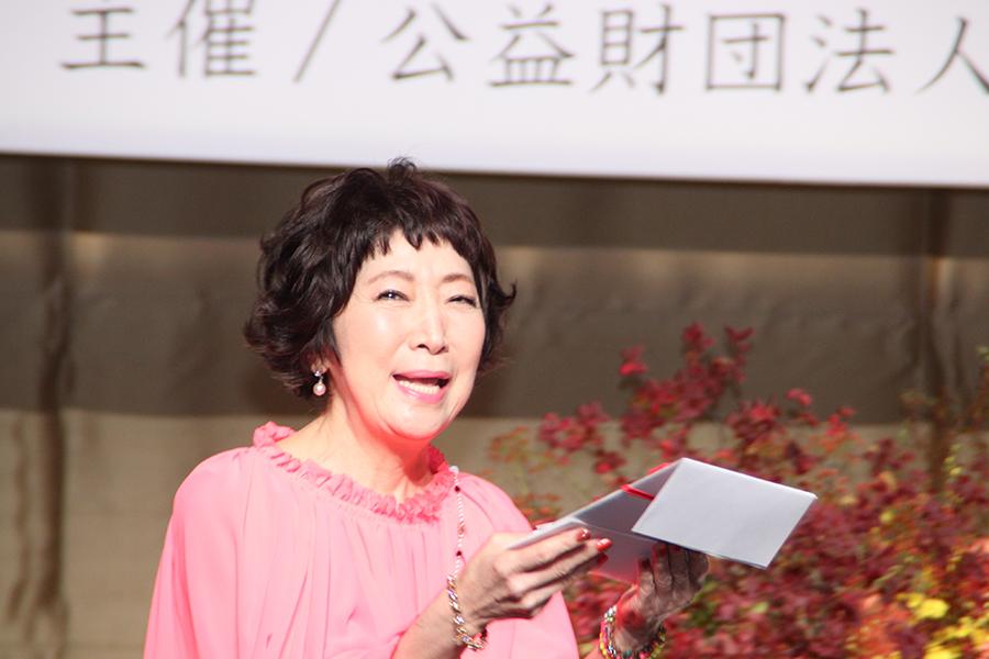第11回岩谷時子賞を受賞した森山良子【写真:ENCOUNT編集部】