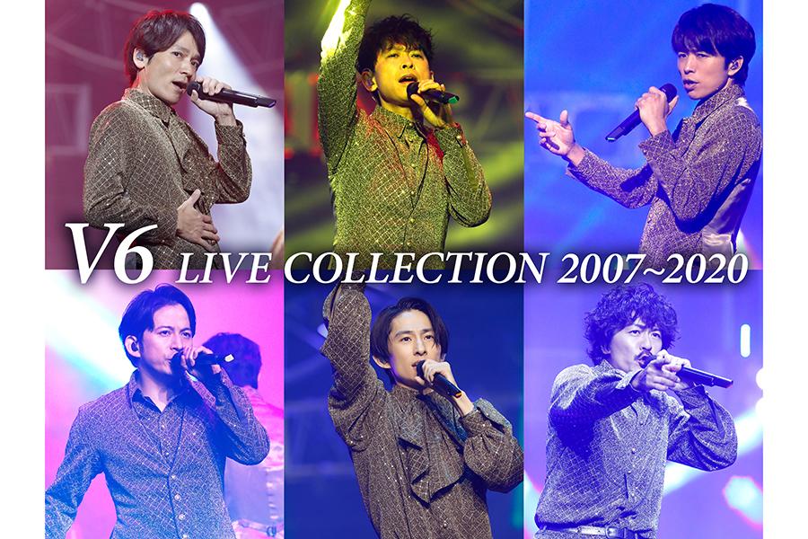 「V6 LIVE COLLECTION 2007~2020」の特別キービジュアル