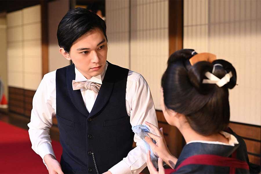 渋沢栄一を演じる吉沢亮【写真:(C)NHK】