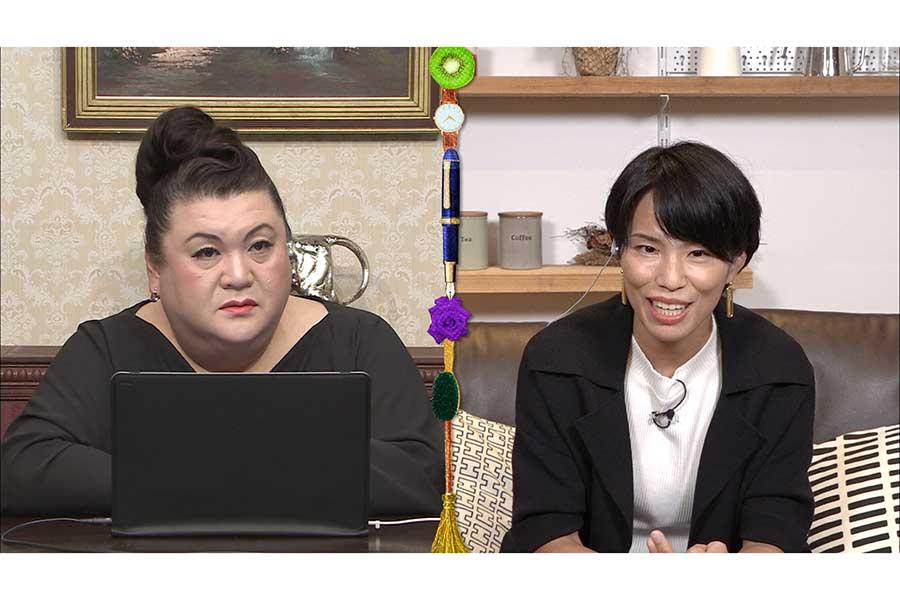 マツコもアイス愛を語る【写真:(C)日本テレビ】