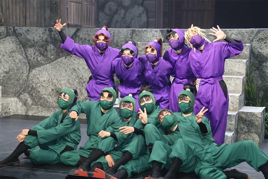 ミュージカル「忍たま乱太郎」の取材会が行われた【写真:ENCOUNT編集部】