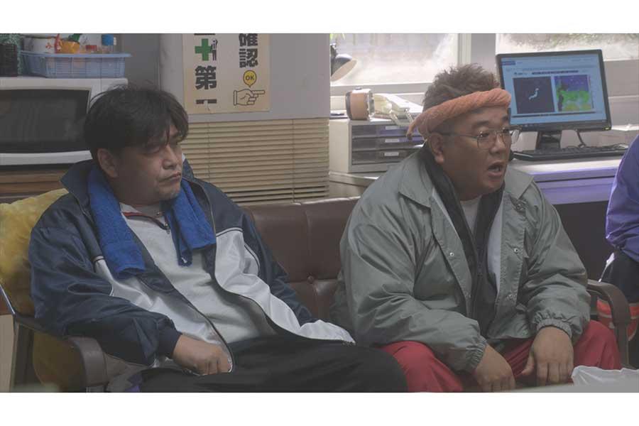 サンドウィッチマン、漁師役で「おかえりモネ」出演【写真:(C)NHK】
