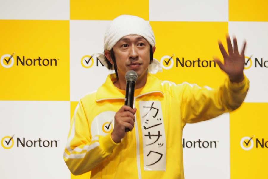 イベントに登壇したYouTuber・カジサック【写真:ENCOUNT編集部】
