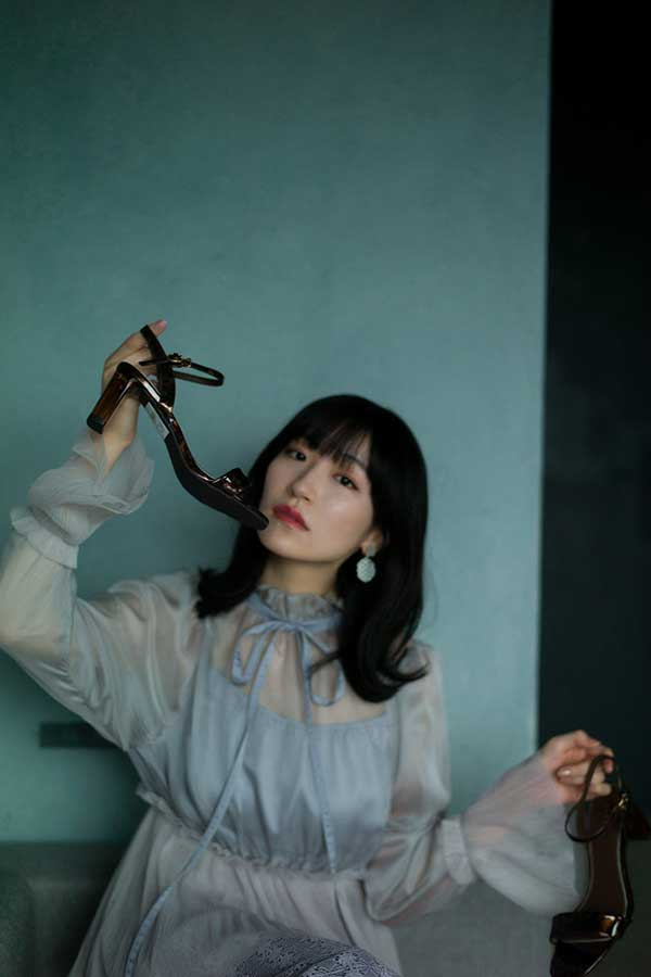 写真集「白群(びゃくぐん)」を発売することが決まった前島亜美